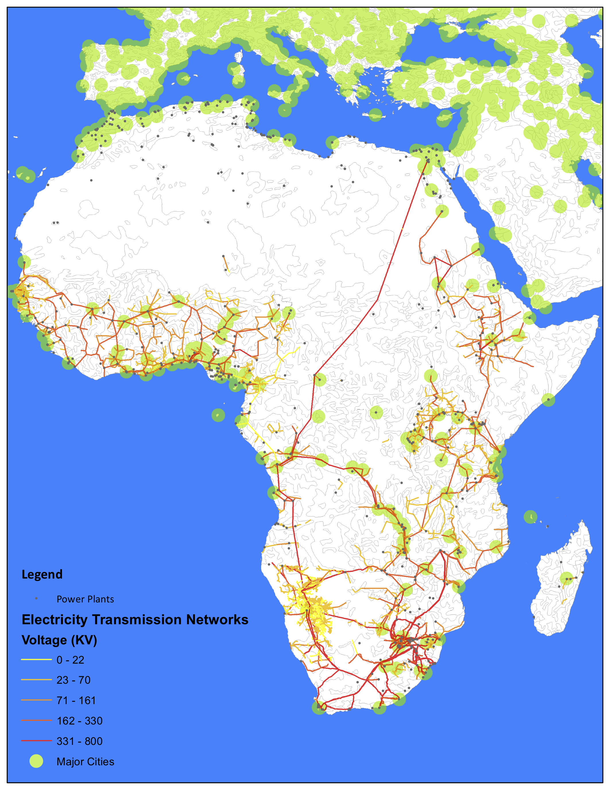 Power Infrastructure in Africa