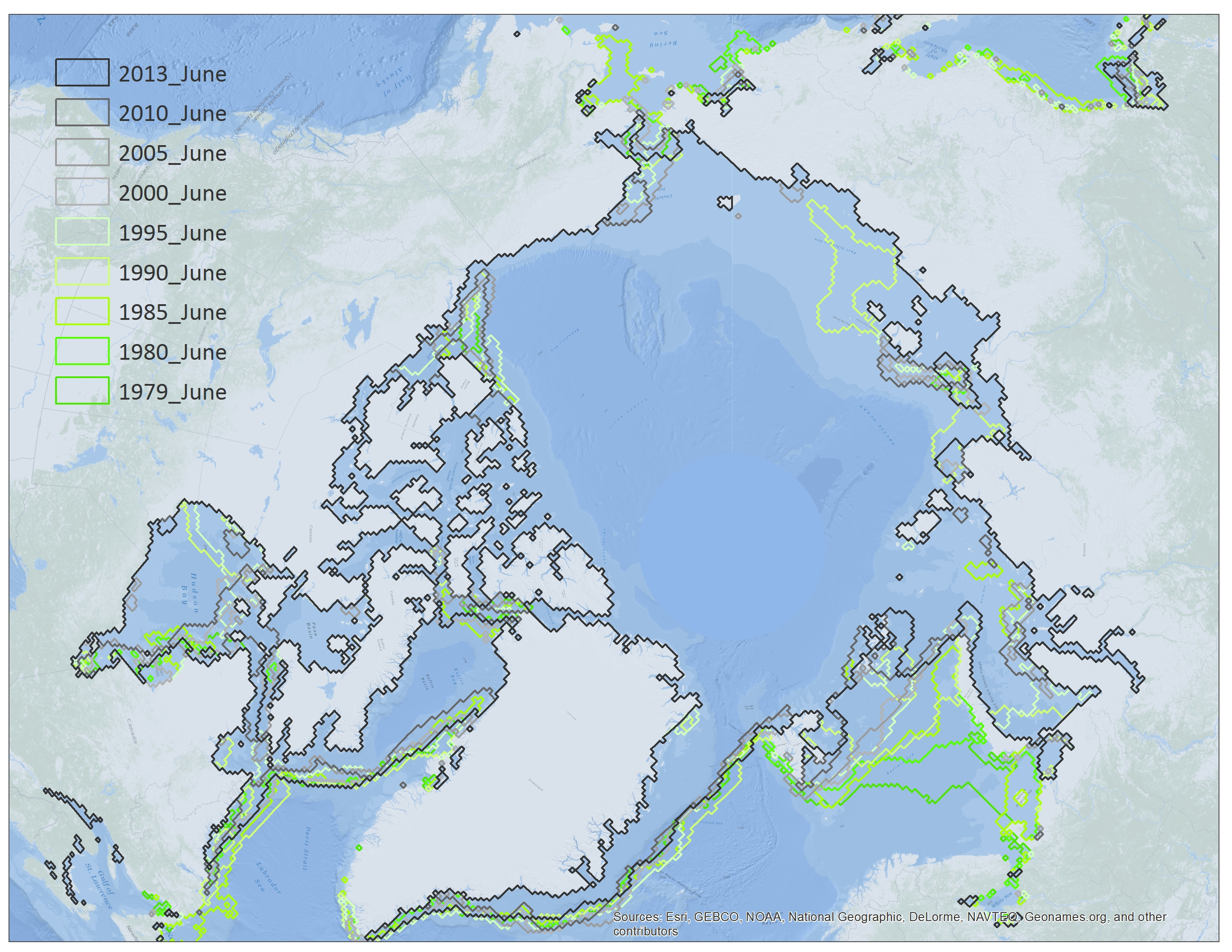 North Pole Ice Extent