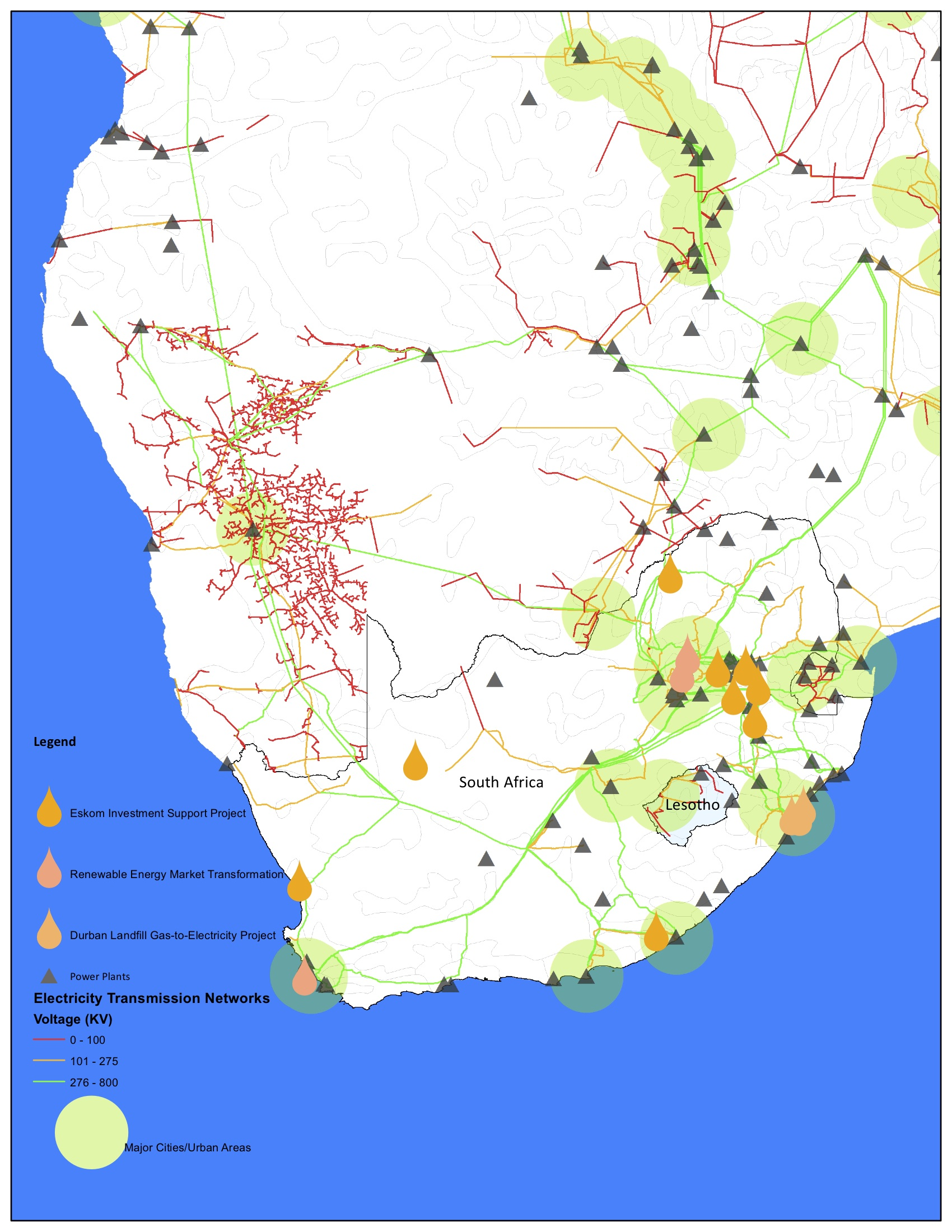 Power Infrastructure in South Africa